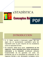 CONCEPTOS E IMPORTANCIA DE LA ESTADISTICA.ppt