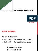 Deep beam