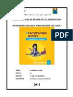 PLAN DE MEJORA-MODUO DE APRENDIZAJE