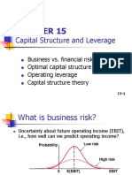 3. ch15 Capital structure and Leverage.ppt