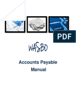account payable manual