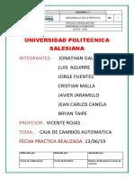 Informe Cajas Automáticas1