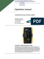 HHMPI FDS40 Operators Manual (1)