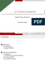 Integrales y Técnicas de Integración - Cálculo Integral.pdf