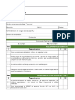 Lista de verificacion contratista y proveedores - Natural
