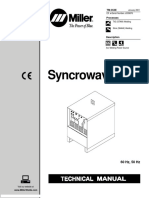 Miller Electric Syncrowave 250 Technical Manual 120626