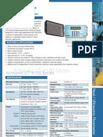 UT-9100F Fixed-mounted Ultrasonic Flow-meter