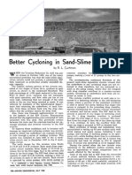 Better Cycloning in Sand-Slime Separation
