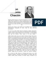 ANTONIO CHACON