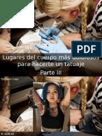 Eustiquio Lugo - Lugares Del Cuerpo Más Dolorosos Para Hacerte Un Tatuaje, Parte III