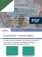 Medidas e Instrumentação-Aula Prática Osciloscópio