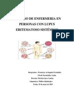 PROCESO DE ENFERMERIA EN PERSONAS CON LUPUS ERITEMATOSO SISTÉMICO