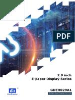 GDEH029A1 V3.3 Specification
