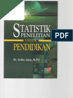 Buku Statistik Penelitian Pendidikan