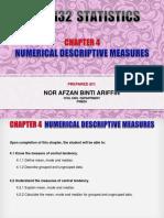 CHAPTER 4  - NUMERICAL DESCRIPTIVE MEASURES.ppt