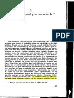 La Elite Intelectual y La Democracia