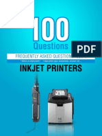 FAQ OF INKJET PRINTER