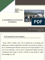 EL PROCEDIMIENTO DE EXTRADICIÓN EN Venezuela