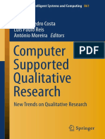 Costa, António Pedro, Luís Paulo Reis, António Moreira. 2019. (Advances in Intelligent Systems and Computing 861) Computer Supported Qualitative Research_ New Trends on Qualitative Research-Springer