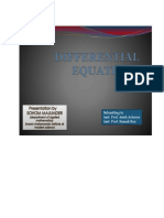 differential equation presentation just the basics