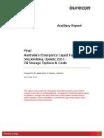 h Toil Storage Report 2013