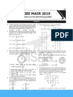 JEE Main 2019 12 April Morning Paper.pdf