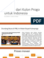 Tomira, dari Kulon Progo untuk Indonesia