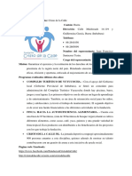 Fuandaciones, Instituciones gubernamentales _ Imbabura - Esmeraldas - Carchi.docx