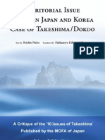 Territorial Issue Between Japan and Korea Case of Takeshima
