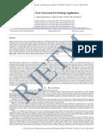 Speech To Text Conversion For Desktop Application.pdf