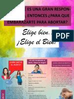 Afiche El Aborto-luis Poma