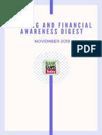 Finacial awarness digest nov 2018