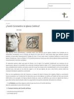 ¿Fundó Constantino La Iglesia Católica_ _ Apología 2.1