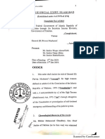 Special court's detailed verdict in Musharraf treason case