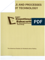 ASNT Materials & Processes for NDT Technology RPOct2007