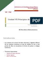 Unidad VII Principios de Control Digital