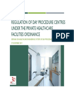 01-Regulation of Day Procedure Centres Under the Private Healthcare Facilities Ordinance