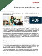 como-crear-escape-room-educativo-alumnos
