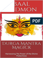 Durga Mantra Magick:Harnessing the Power of the Divine Protectress
