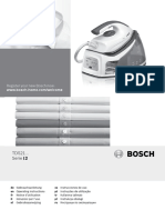 Bosch Steam Machine Manual