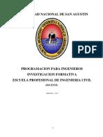 Programa en M Basic Costos UNSA