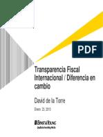 Transparencia Fiscal Internacional