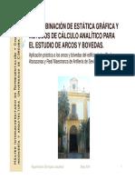 Estatica Grafica y Calculo Analitico Para Analisis de Arcos y Bovedas