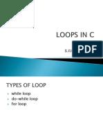 LOOPS IN C