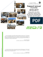 Rapport Annuel 2018-2019 the Beit Project