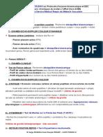 Atelier Protocole d'Examen Biomecanique Et EDC Mollet 2019