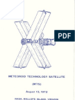 Meteoroid Technology Satellite
