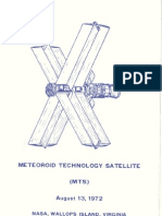 Meteoroid Technology Satellite