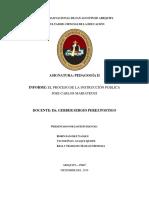 Informe__el Proceso de La Instrucción Pública