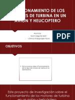 FUNCIONAMIENTO DE LOS MOTORES DE TURBINA EN